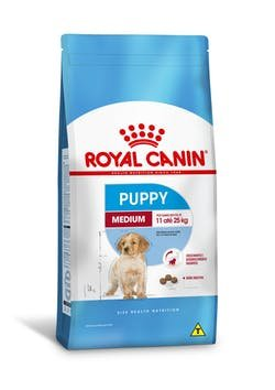 Ração Royal Canin Para Cães Medium Junior/Puppy 15kg