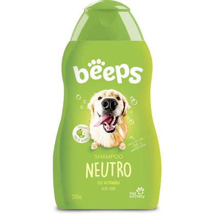 Shampoo Pet Society Beeps Neutro 500ml